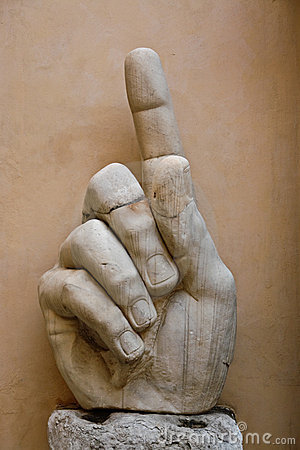 The hand of Constantine