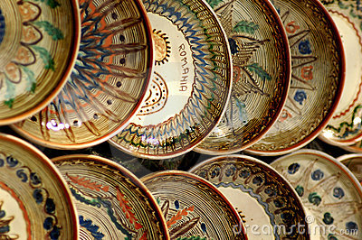 Hand crafted bowls from Maramures Romania.