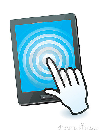 Hand cursor and tablet pc