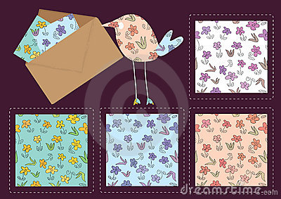 Hand Drawing Flower Pattern_eps