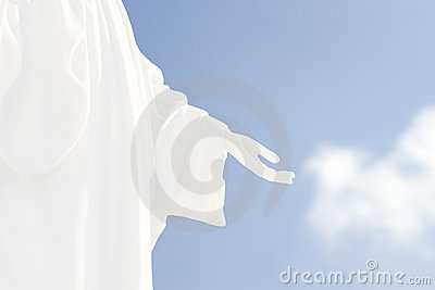 Hand des Gottes