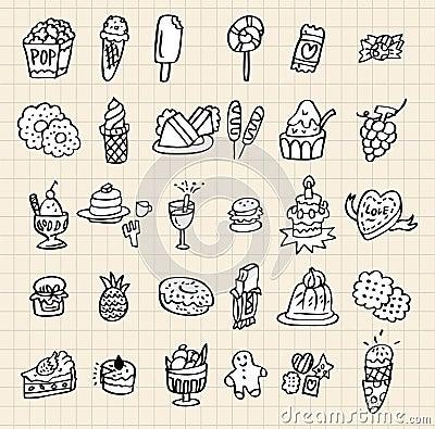 Hand draw cake