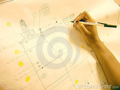 Hand On Drawing