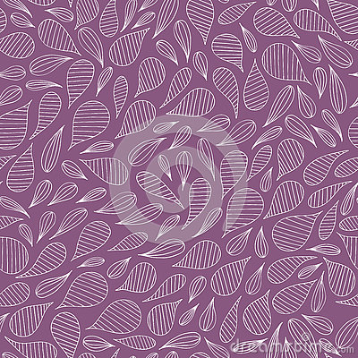 Hand drawn abstract pattern. Vector seamless background. Vector Illustration