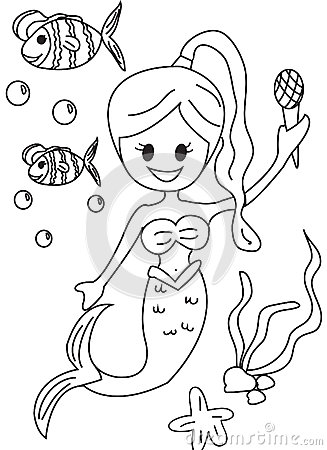 Galerry cartoon ocean coloring pages
