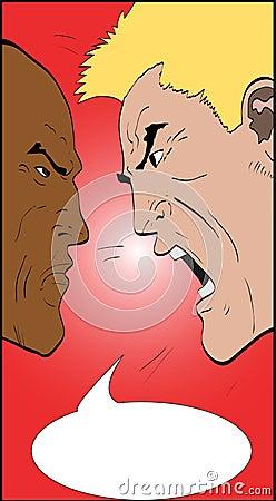 Arguing Men