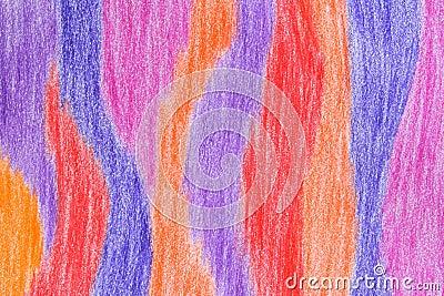 Hand-drawn crayon background