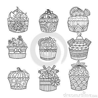 hand drawn cupcake coloring book adult 63057228 as well as cupcakes coloring pages printable animals 1 on cupcakes coloring pages printable animals also with cupcakes coloring pages printable animals 2 on cupcakes coloring pages printable animals including cupcakes coloring pages printable animals 3 on cupcakes coloring pages printable animals further cupcakes coloring pages printable animals 4 on cupcakes coloring pages printable animals