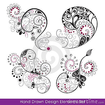 Hand_drawn_design_elements_set