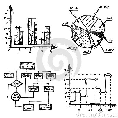 Hand       Drawn    Different Types Of Infographics Royalty Free Stock Photography  Image  38750547