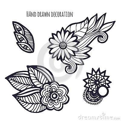 whimsical flower coloring pages - photo#44