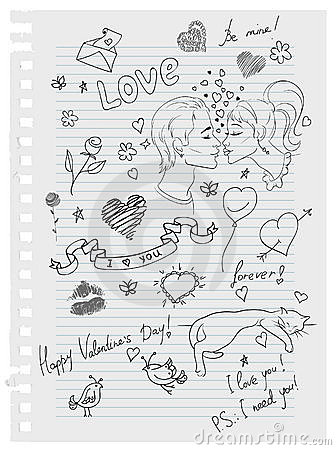 Cute love doodles to draw images for Love doodles to draw