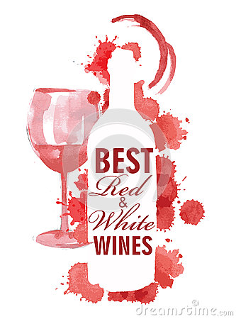 Free Hand Drawn Of Wine Banners Royalty Free Stock Photos - 44600568