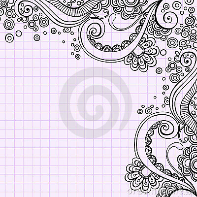 Free Hand-Drawn Psychedelic Doodle Swirls Vector Royalty Free Stock Images - 11045769