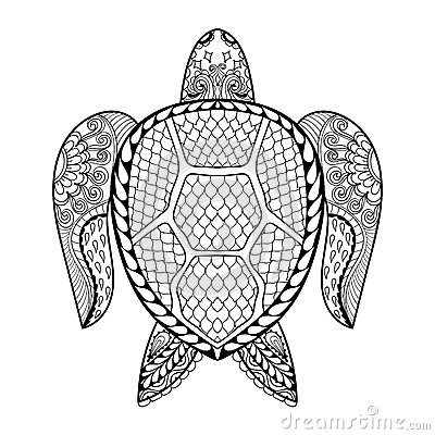 tribal animal coloring pages - photo#21
