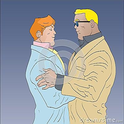 Mens embrace