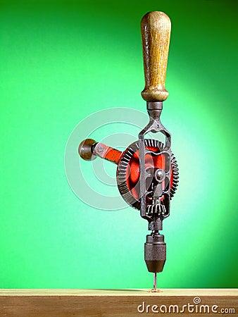 Free Hand Drill Stock Photo - 4669080