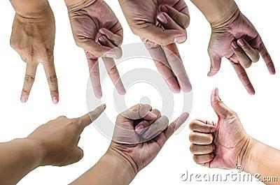 Hand emotion