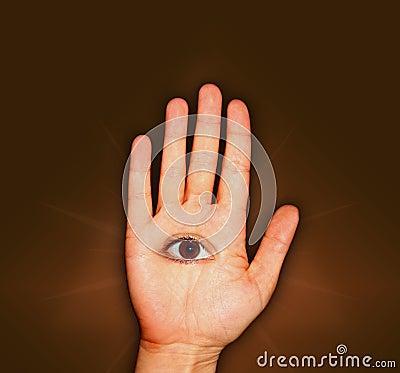 Hand and Eye
