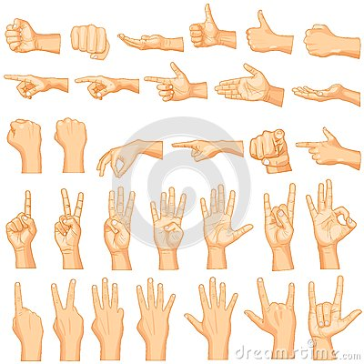 Free Hand Gestures Royalty Free Stock Images - 36349269