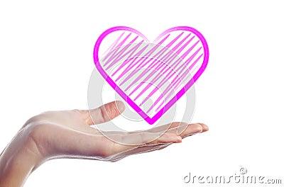 Hand Give Heart