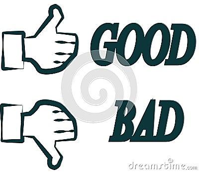 Hand goor or bad