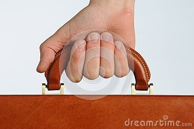 Hand gripping handle
