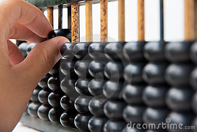 Hand hold abacus