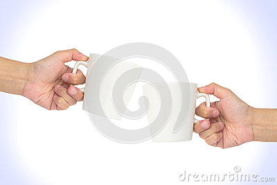Hand hold cup