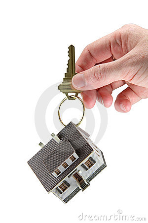 Free Hand Holding A House Keys Royalty Free Stock Photo - 3043125