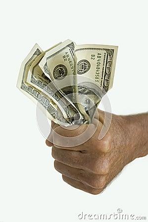 Free Hand Holding Money Royalty Free Stock Photos - 905578