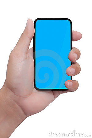 Free Hand Holding Smart Phone Stock Images - 19922384