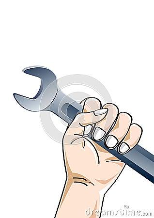 Hand holding tool