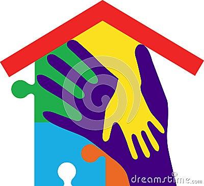 Hand home