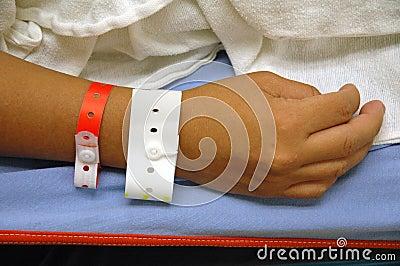Hand  With Hospital ID