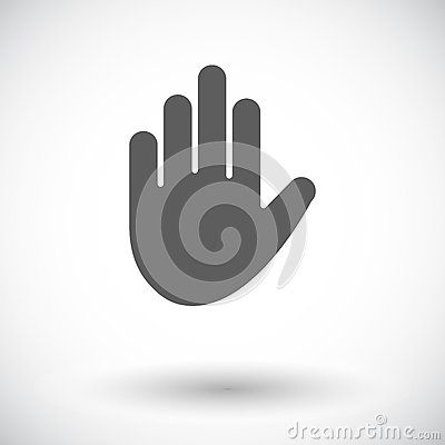 Free Hand Icon Royalty Free Stock Photography - 92418037