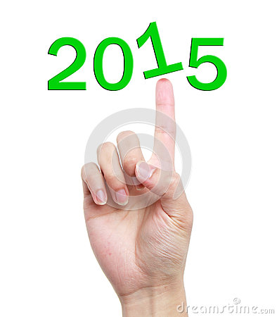Hand with 2015