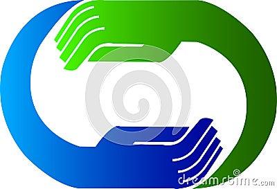 Hand logo