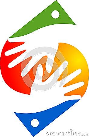 Hand logo Vector Illustration