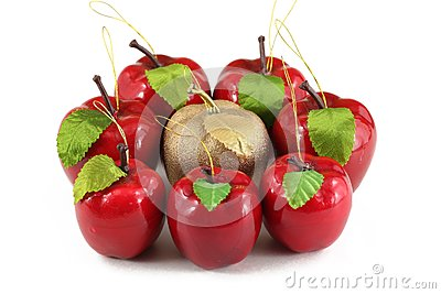 Hand made apples