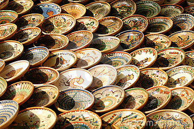 Hand-made bowl from Maramures.
