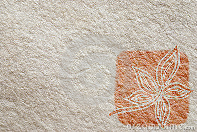 Hand made paper texture