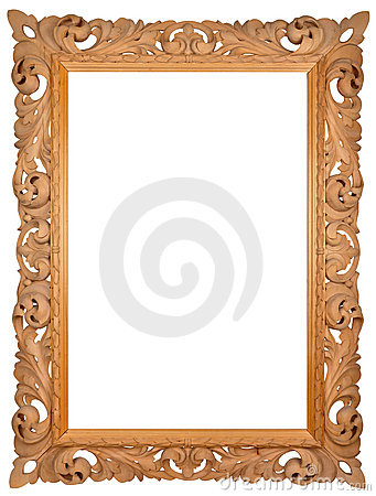 Hand-made picture frame