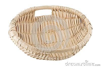Hand made wicker basket