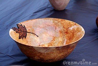 Hand made wooden bowl