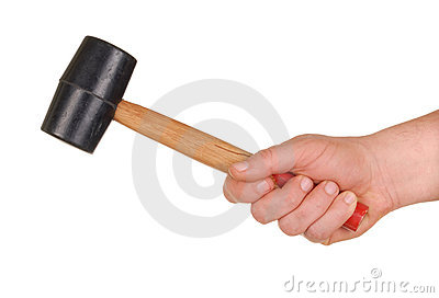 Hand with Mallet
