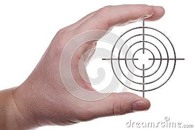 Hand met doel 2