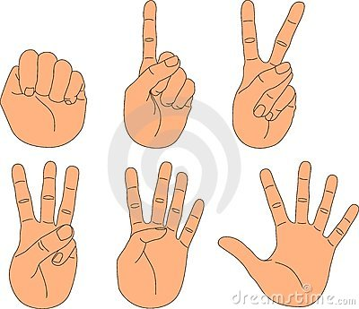 Hand motions