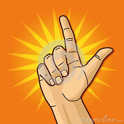 Hand och pekfinger