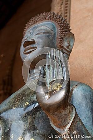 Free Hand Of Budha Stock Image - 44150121